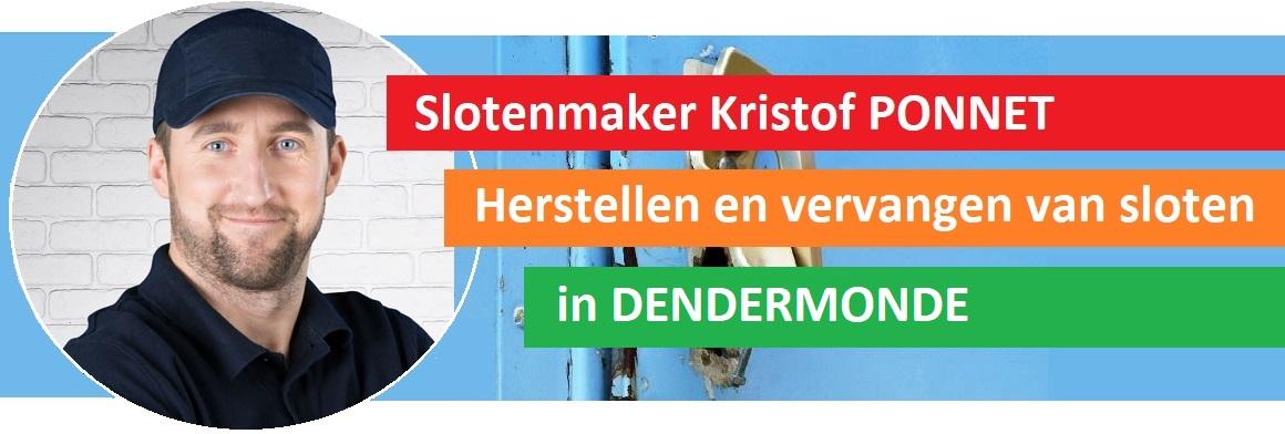 Slotenmaker Kristof PONNET - Dendermonde