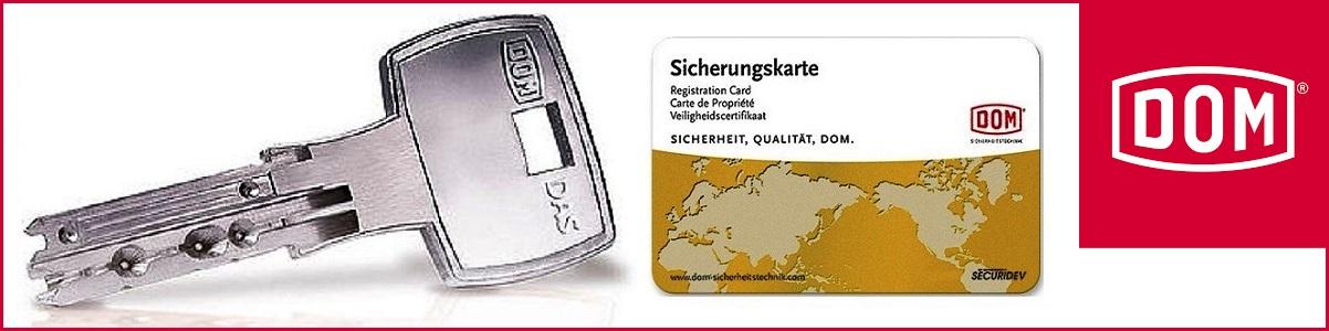DOM Veiligheidscilinders met eigendomscertificaat